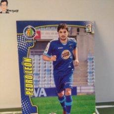 Cromos de Fútbol: PEDRO LEÓN Nº 489 FICHAJE (GETAFE) MEGACRACKS 2011 2012 11 12 PANINI CARD LIGA MEGA CRACKS MGK. Lote 295756353