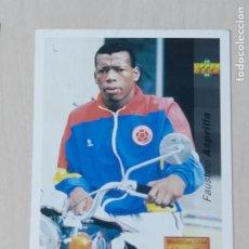 Cromos de Fútbol: Nº 135 FAUSTINO ASPRILLA - UPPER DECK - WORLDCUP 94 - FUTURAS ESTRELLAS. Lote 295808033