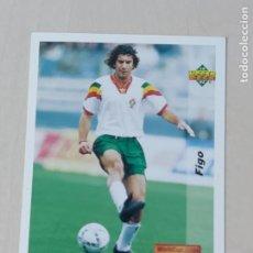 Cromos de Fútbol: Nº 137 FIGO - ROOKIE - UPPER DECK - WORLDCUP 94 - FUTURAS ESTRELLAS. Lote 295808163