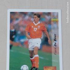 Cromos de Fútbol: Nº 142 FRANK DE BOER - UPPER DECK - WORLDCUP 94 - FUTURAS ESTRELLAS. Lote 295808308
