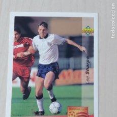 Cromos de Fútbol: Nº 144 LEE SHARPE - UPPER DECK - WORLDCUP 94 - FUTURAS ESTRELLAS. Lote 295808358