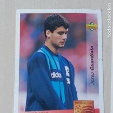 Cromos de Fútbol: Nº 147 GUARDIOLA - UPPER DECK - WORLDCUP 94 - FUTURAS ESTRELLAS. Lote 295808523