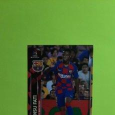 Cromos de Fútbol: CROMO 72 BIS ANSU FATI ROOKIE BARCELONA MEGACRACKS 19-20 (VER FOTOS). Lote 295808643