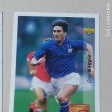 Cromos de Fútbol: Nº 148 DINO BAGGIO - UPPER DECK - WORLDCUP 94 - FUTURAS ESTRELLAS. Lote 295808698