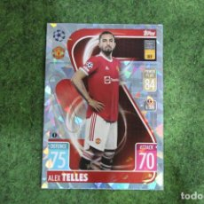 Cromos de Fútbol: 33 TELLES TOPPS CRYSTAL PARALLEL MATCH ATTAX 2021-22 CHAMPIONS LEAGUE. Lote 295809083