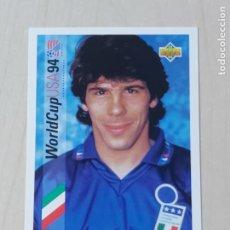 Cromos de Fútbol: Nº 160 GIANFRANCO ZOLA - UPPER DECK - WORLDCUP 94 - ITALIA. Lote 295809153