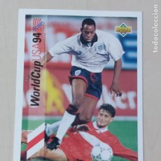 Cromos de Fútbol: Nº 163 IAN WRIGHT - UPPER DECK - WORLDCUP 94 - INGLATERRA. Lote 295809393