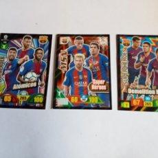 Cromos de Fútbol: VARIOS CROMOS MESSI. Lote 295841808