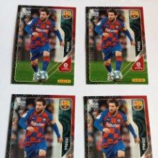 Cromos de Fútbol: VARIOS CROMOS MESSI. Lote 295842943