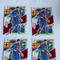 Cromos de Fútbol: VARIOS CROMOS MESSI. Lote 295843753