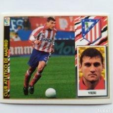 Cromos de Fútbol: LIGA ESTE 1997 1998 97 98 VIERI COLOCA ATLÉTICO MADRID. Lote 295990453