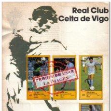 Cromos de Fútbol: 1987-88. DIARIO AS 2 HOJAS CELTA DE VIGO COMPLETO 13 CROMOS. Lote 295990573