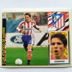 Cromos de Fútbol: LIGA ESTE 1997 1998 97 98 JUNINHO COLOCA ATLÉTICO MADRID. Lote 295990913