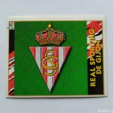 Cromos de Fútbol: LIGA ESTE 1997 1998 97 98 ESCUDO SPORTING GIJON. Lote 295992558