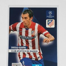 Cromos de Fútbol: DIEGO GODÍN CLUB ATLÉTICO DE MADRID -UEFA CHAMPIONS LEAGUE 2013 2014 ADRENALYN XL - PANINI UCL 13 14. Lote 296627623
