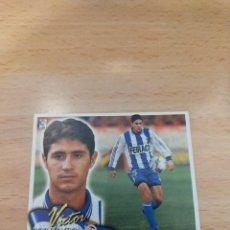 Cromos de Fútbol: CROMO 2000/01 LIGA ESTE. VICTOR. DEPORTIVO. NUNCA PEGADO.. Lote 296627718