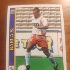 Cromos de Fútbol: 44 LE SCHEDE DEL CALCIO 2001 - ANTONIO CASSANO - BARI -- MUNDICROMO MC ITALIA FICHAS ROOKIE. Lote 296627873