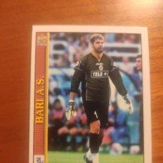 Cromos de Fútbol: 26 LE SCHEDE DEL CALCIO 2001 - GENEROSO ROSSI - BARI -- MUNDICROMO MC ITALIA FICHAS. Lote 296628128