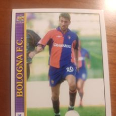 Cromos de Fútbol: 62 LE SCHEDE DEL CALCIO 2001 - TOMAS LOCATELLI - BOLONIA - BOLOGNA -- MUNDICROMO MC ITALIA FICHAS. Lote 296628303