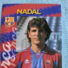 Cromos de Fútbol: NADAL. Lote 296628403