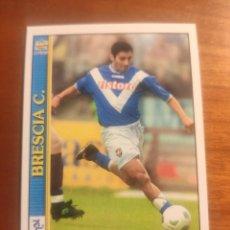 Cromos de Fútbol: 93 LE SCHEDE DEL CALCIO 2001 - RAUL GONZALES - BRESCIA -- MUNDICROMO MC ITALIA FICHAS. Lote 296628568