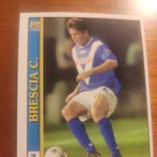 Cromos de Fútbol: 89 LE SCHEDE DEL CALCIO 2001 - PIERLUIGI ORLANDINI - BRESCIA -- MUNDICROMO MC ITALIA FICHAS. Lote 296628703