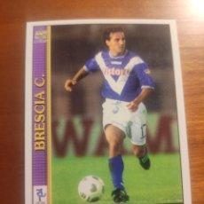 Cromos de Fútbol: 87 LE SCHEDE DEL CALCIO 2001 - EMANUELE FILIPPINI - BRESCIA -- MUNDICROMO MC ITALIA FICHAS. Lote 296628748