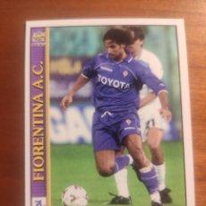 Cromos de Fútbol: 100 LE SCHEDE DEL CALCIO 2001 - DANIELE ADANI - FIORENTINA -- MUNDICROMO MC ITALIA FICHAS. Lote 296628858