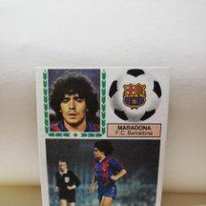 Cromos de Fútbol: MARADONA. LIGA 83/84. CROMO EN PERFECTO ESTADO. F. C. BARCELONA. EDICIONES ESTE. VER FOTOS.. Lote 296805613