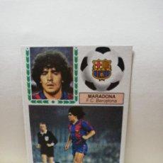 Cromos de Fútbol: MARADONA. LIGA 83/84. CROMO EN PERFECTO ESTADO. F. C. BARCELONA. EDICIONES ESTE. VER FOTOS.. Lote 296805718