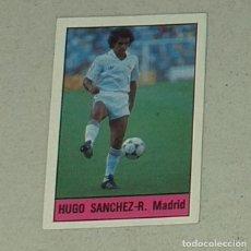 Figurine di Calcio: CROMO FUTBOL LIGA ALBUM LISEL 85 86 - NUNCA PEGADO - 1985 1986 NUMERO 317 HUGO SANCHEZ REAL MADRID. Lote 296954788