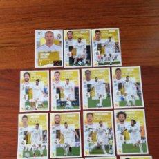 Cromos de Fútbol: LOTE 15 CROMOS. R. MADRID. TEMPORADA 20.21.. Lote 297039738