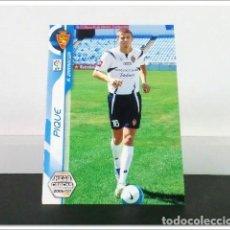Cromos de Fútbol: MEGACRACKS 2006 2007 06 07 PANINI PIQUE 348 BIS FICHAJE ROOKIE ZARAGOZA CARD ALBUM MEGA CRACKS MGK. Lote 297040248