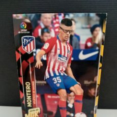 Cromos de Fútbol: MEGACRACKS 2019 2020 19 20. PANINI. MONTERO Nº 44 ATLÉTICO DE MADRID. Lote 297040438