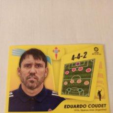 Cromos de Fútbol: EDUARDO COUDET N° 2 - CELTA - LIGA ESTE 2021 2022 - 21 22. Lote 297040728