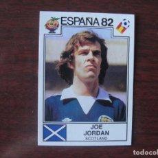 Cromos de Fútbol: ESPAÑA 82 PANINI - ESCOCIA - JOE JORDAN - Nº 415 - NUNCA PEGADO -. Lote 297122163