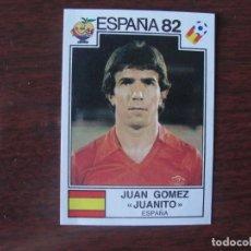 Cromos de Fútbol: ESPAÑA 82 PANINI - JUAN GOMEZ JUANITO - Nº 305 - SIN PEGAR - MUY BIEN CONSERVADO. Lote 297122213