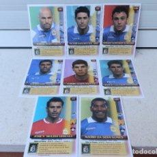 Cromos de Fútbol: 8 CROMOS FÚTBOL CELTA DE VIGO. OFICIAL D TRADING CARDS.TOP LIGA 2004.MUNDICROMO SPORT. MEGACARDS.. Lote 297373493