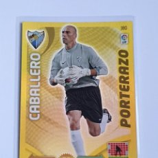 Cromos de Fútbol: CABALLERO PORTERAZO #380 MÁLAGA CF - ADRENALYN XL LA LIGA BBVA 2011 2012 - PANINI 11 12 CROMO. Lote 297373528