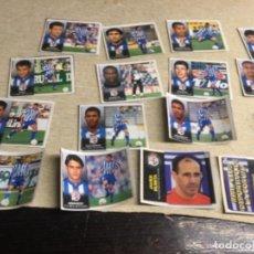 Cromos de Fútbol: LIGA 98/99 ESTE - 16 CROMOS RECUPERADOS O RECORTADOS -DEPROTIVO DE LA CORUÑA - 1998/99 C. Lote 297373533