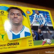 Cromos de Fútbol: CROMO COLECCIONES ESTE, TEMPORADA 2021/22, PANINI, ENTRENADOR DIMATA (ESPANYOL), Nº 19A. Lote 297373548