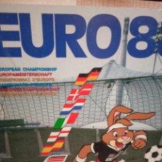 Cromos de Fútbol: ALBUM COMPLETO FÚTBOL EURO 88. Lote 297374353