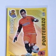 Cromos de Fútbol: BRAVO PORTERAZO #383 REAL SOCIEDAD - ADRENALYN XL LA LIGA BBVA 2011 2012 - PANINI 11 12 CROMO. Lote 297374438