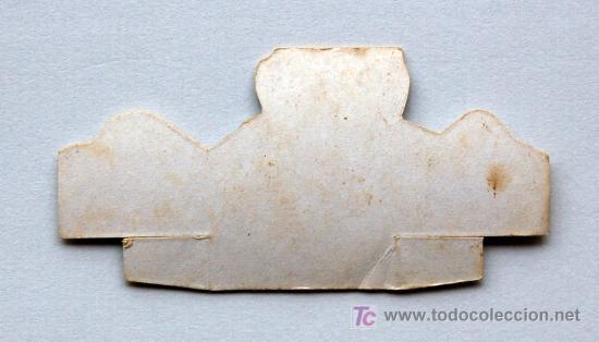 Coleccionismo Cromos troquelados antiguos: Cromo troquelado original de Mazinger Z de Panrico. Nº 65 - Kojira M-3 - Foto 2 - 16444662
