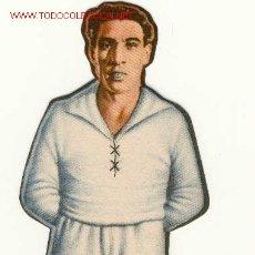 Coleccionismo Cromos troquelados antiguos: (2167-F)CROMO FUTBOL TROQUELADO DE ALONSO DEL REAL MADRID.AÑO 1944. Lote 2421448