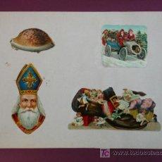 Coleccionismo Cromos troquelados antiguos: HOJA CON CROMOS TROQUELADOS. VARIOS.. Lote 11839595
