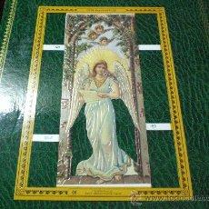 Coleccionismo Cromos troquelados antiguos: CROMO PICAR TROQUELADO ANGELES VICTORIANOS NUMERO 39. Lote 11977918