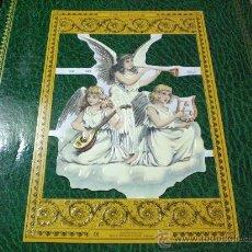 Coleccionismo Cromos troquelados antiguos: CROMO PICAR TROQUELADO ANGELES VICTORIANOS NUMERO 40. Lote 36862813
