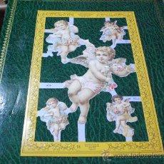 Coleccionismo Cromos troquelados antiguos: CROMO PICAR TROQUELADO ANGELES VICTORIANOS NUMERO 60- LOTE DE 2 IGULES-. Lote 122523115