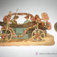 Coleccionismo Cromos troquelados antiguos: PRECIOSO CROMO TROQUELADO (CHOCOLATE AMATLLER, BARCELONA).. Lote 22193991